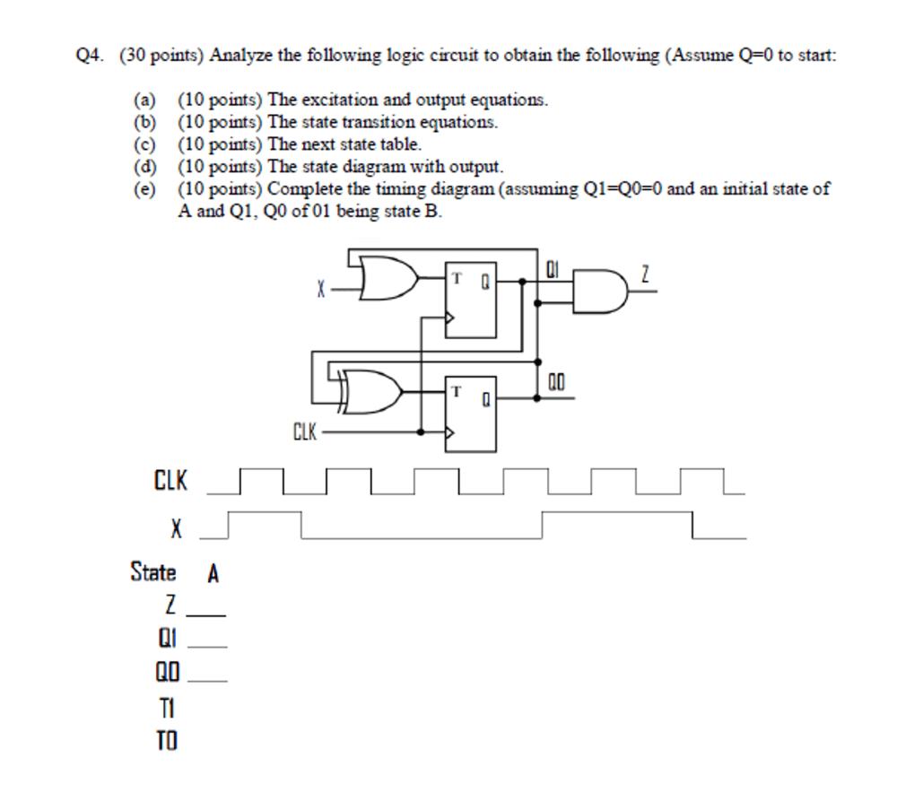 medium resolution of logic gate diagram show state transition cheggcom wiring diagram logic gate diagram show state transition cheggcom