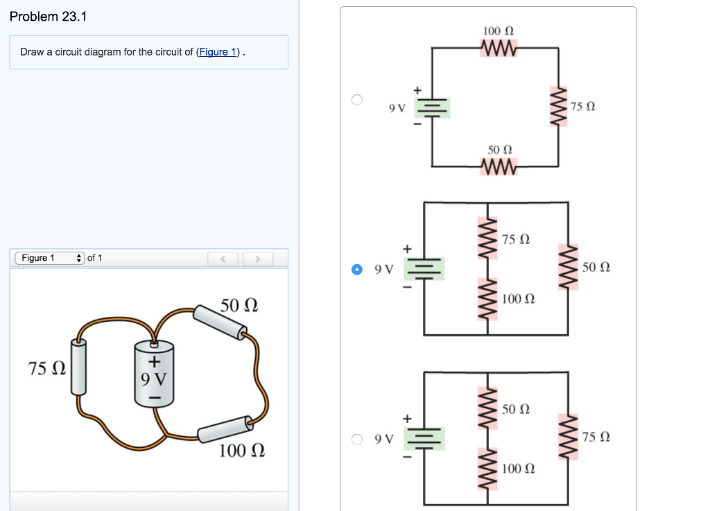 Solved: Draw A Circuit Diagram For The Circuit Of (Figure