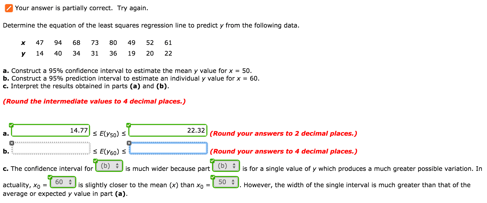 Solved Hello I Desperately Need Help With Part B Of Th