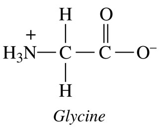 Solved: Write The Conjugate Base For The Amino Acid Glycin