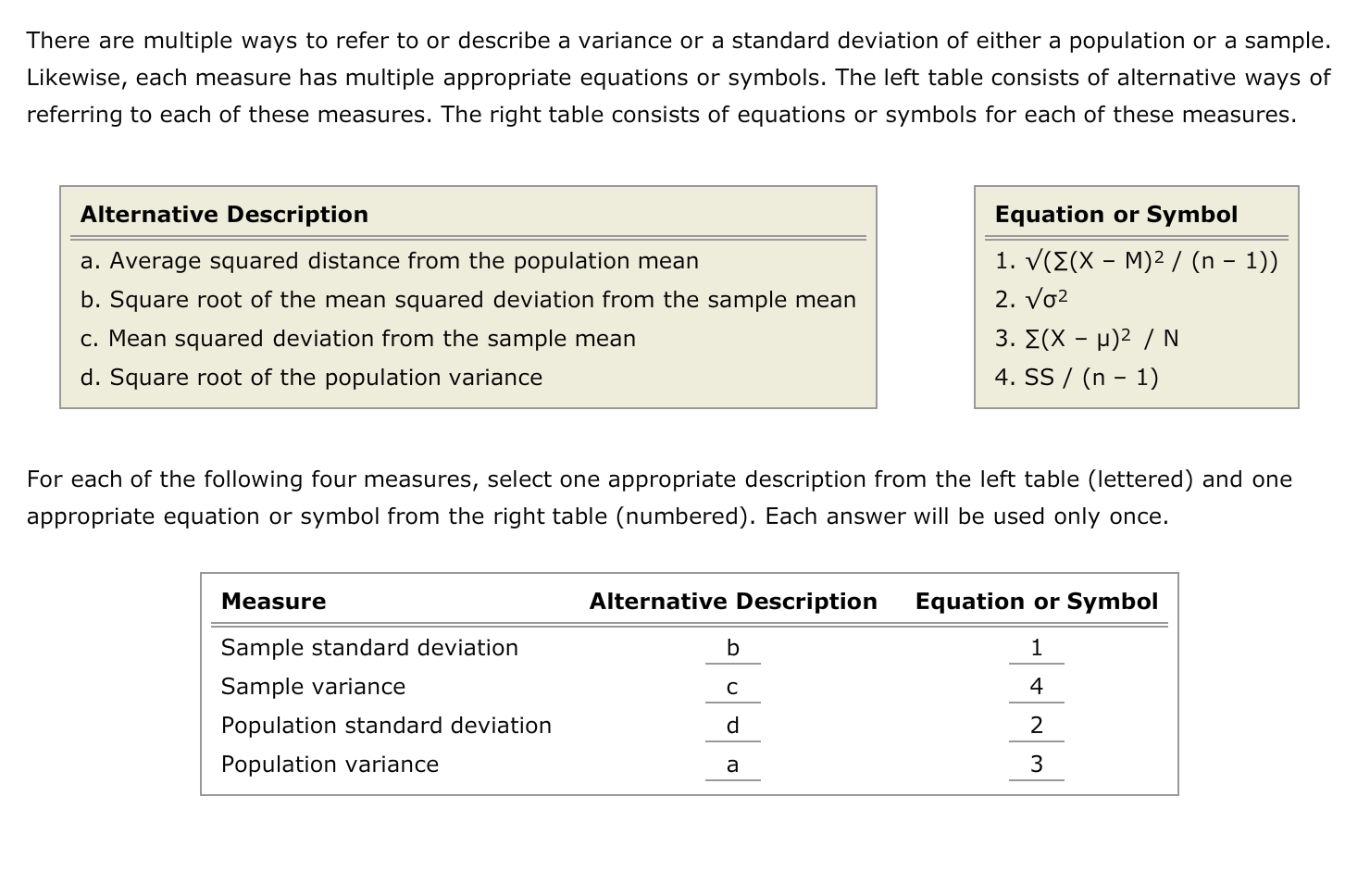 Solved There Are Multiple Ways To Refer To Or Describe A
