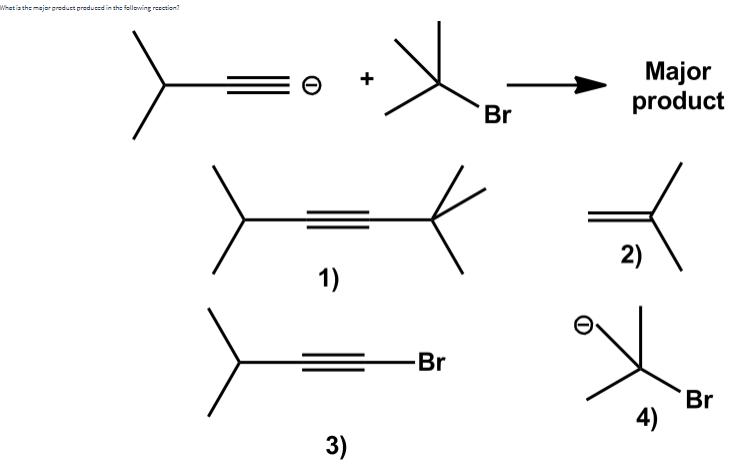 Solved: 1) NaNH2/NH3 Major 2) CH3CH2Brproduct 2) 1) NH2 NH