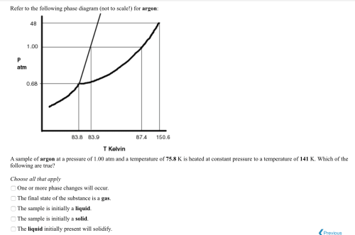 small resolution of solved refer to the following phase diagram not to scale faranheit nitrogen phase diagram nitrogen phase diagram