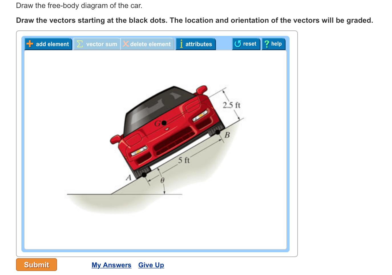 hight resolution of free body diagram homework