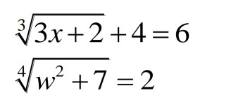 Solved: Radical Equations Math Help? I Mostly Have Issues