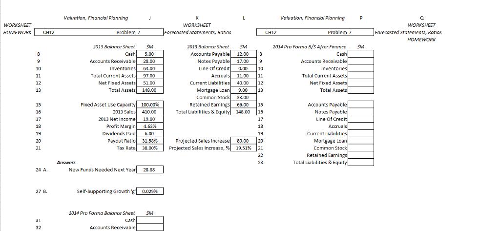Valuation, Financial Planning P Valuation, Financi