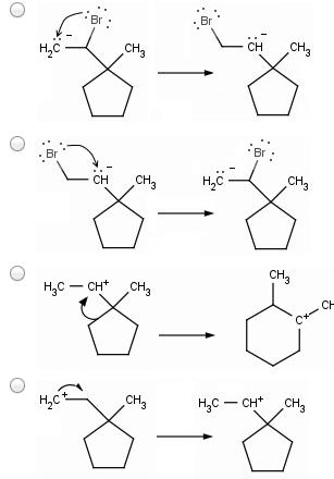 Methyl Shift Vs Hydride Shift : methyl, shift, hydride, Mechanism, Following, Transformation, Invo..., Chegg.com