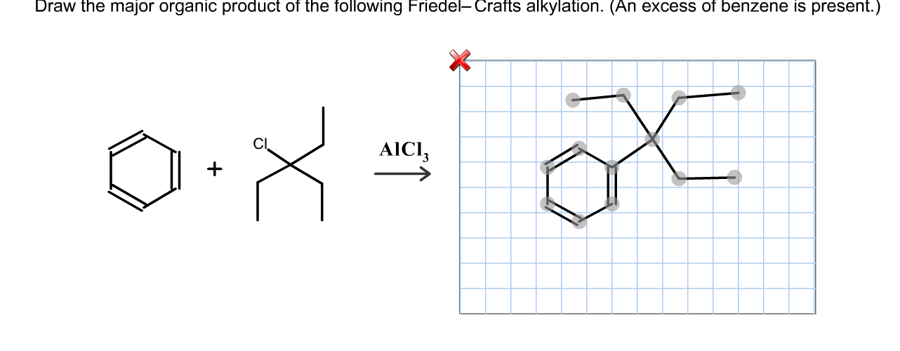 Solved: Draw The Major Organic Product Of The Following Fr