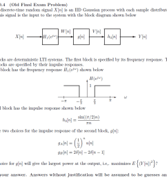 problem 10 4 old final exam problem the real discrete time random signal xin [ 1024 x 777 Pixel ]