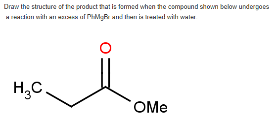 Solved: Draw The Structure Of The Product That Is Formed W