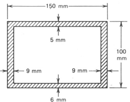 1.A Hollow Rectangular Thin-walled Steel Torsion M