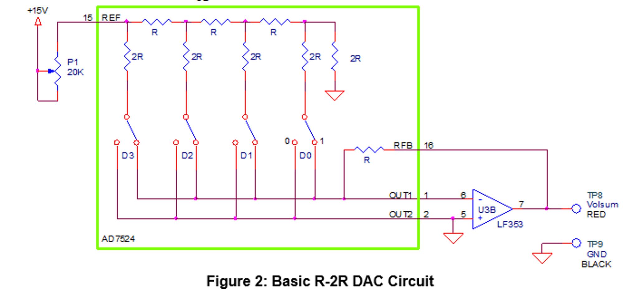 hight resolution of  15v 15 ref 2r 2r 2r 2r p1 20k 0 o rfb 18 d3 d2