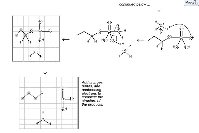 Solved: Predict The Organic Product For The Following Reac