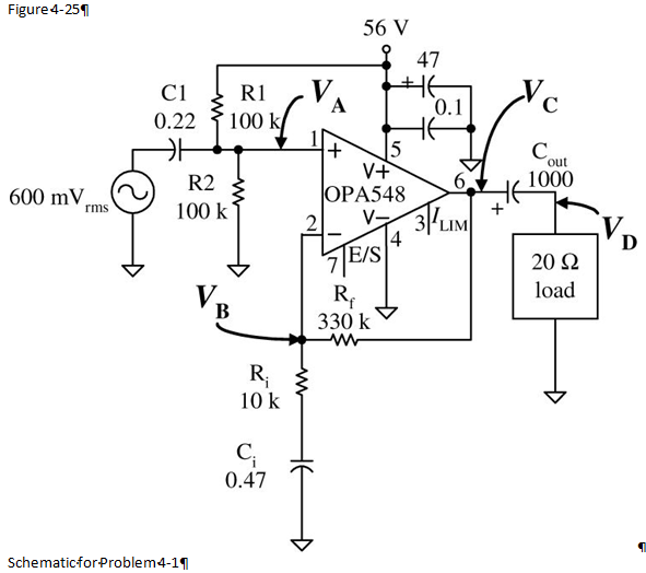 Solved: For The Circuit In Figure 4-25, Calculate The Dc A
