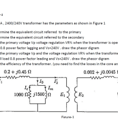 problem 1 a 150 kva 2400 240v transformer has the [ 1366 x 768 Pixel ]