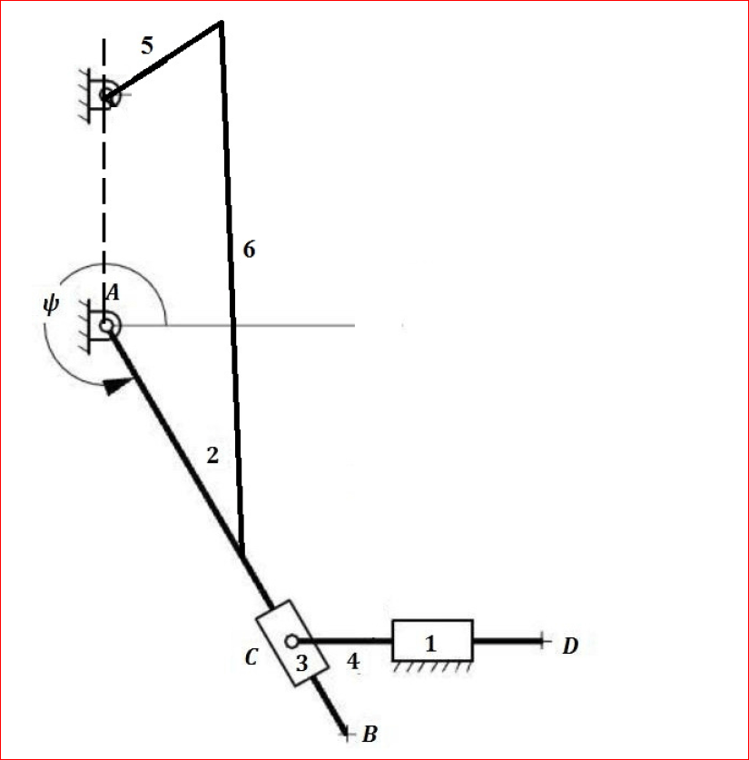 How Can I Simulate This Mechanism In Matlab R2014b