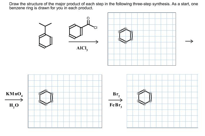Solved: Draw The Structure Of The Major Product Of Each St