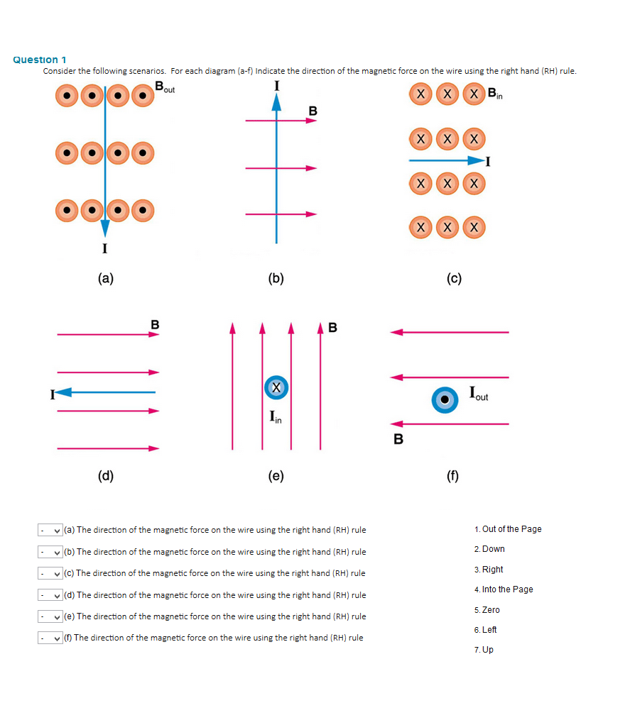 medium resolution of question 1 consider the following scenarios for each diagram a f indicate the direction