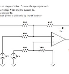 consider the circuit diagram below assume the op [ 2046 x 1314 Pixel ]