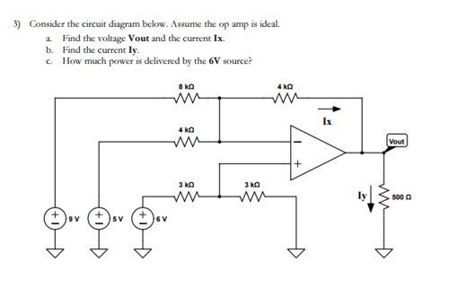 small resolution of consider the circuit diagram below assume the op