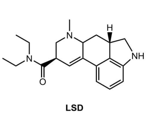 Solved: Consider The Structure Of Lysergic Acid Diethylami