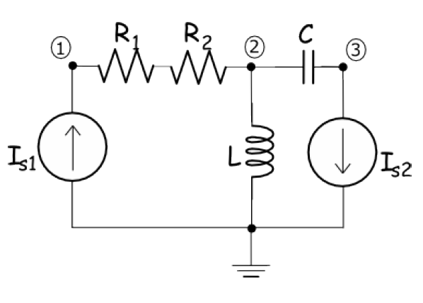 Solved: Apply Nodal Analysis To The Circuit Above. Use The
