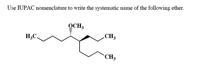 Solved: Use IUPAC Nomenclature To Write The Systematic Nam