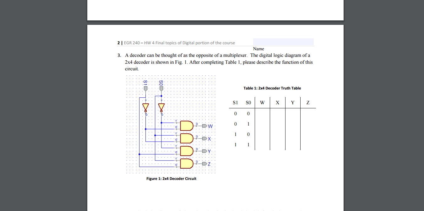 hight resolution of a decoder can be thought of as the opposite of a m