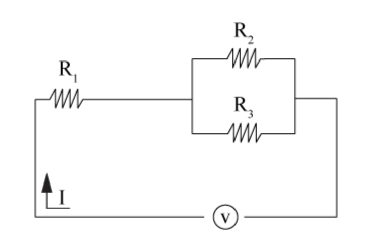 resistor circuit diagram twist lock plug wiring hubbell flanged inlets solved in the three shown here r question r1 8 5 r2 10 r3 9 and v 21