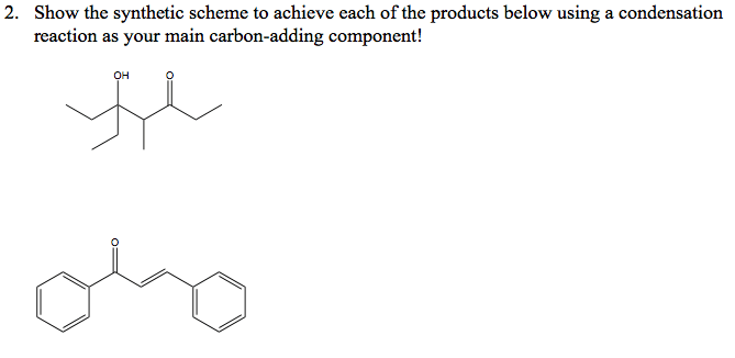 Solved: Organic Chemistry II Problem Set: (3k Rewards To A