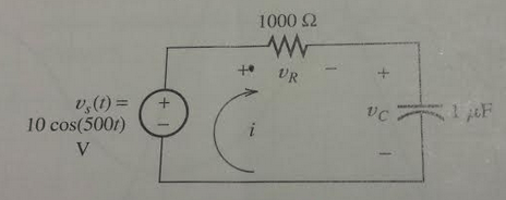 Solved: Find The Phasors For The Currentand The Voltages F