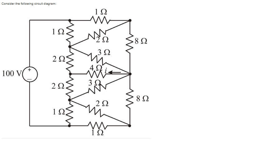 Using MATLAB, Solve The Electrical Circuit Shown A