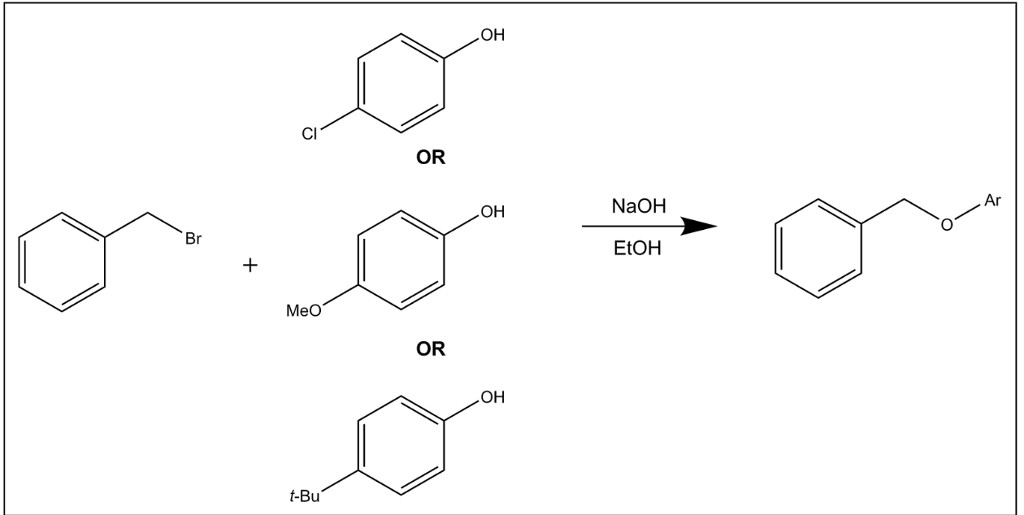 Solved: React The Three Compounds With Benzyl Bromide In T