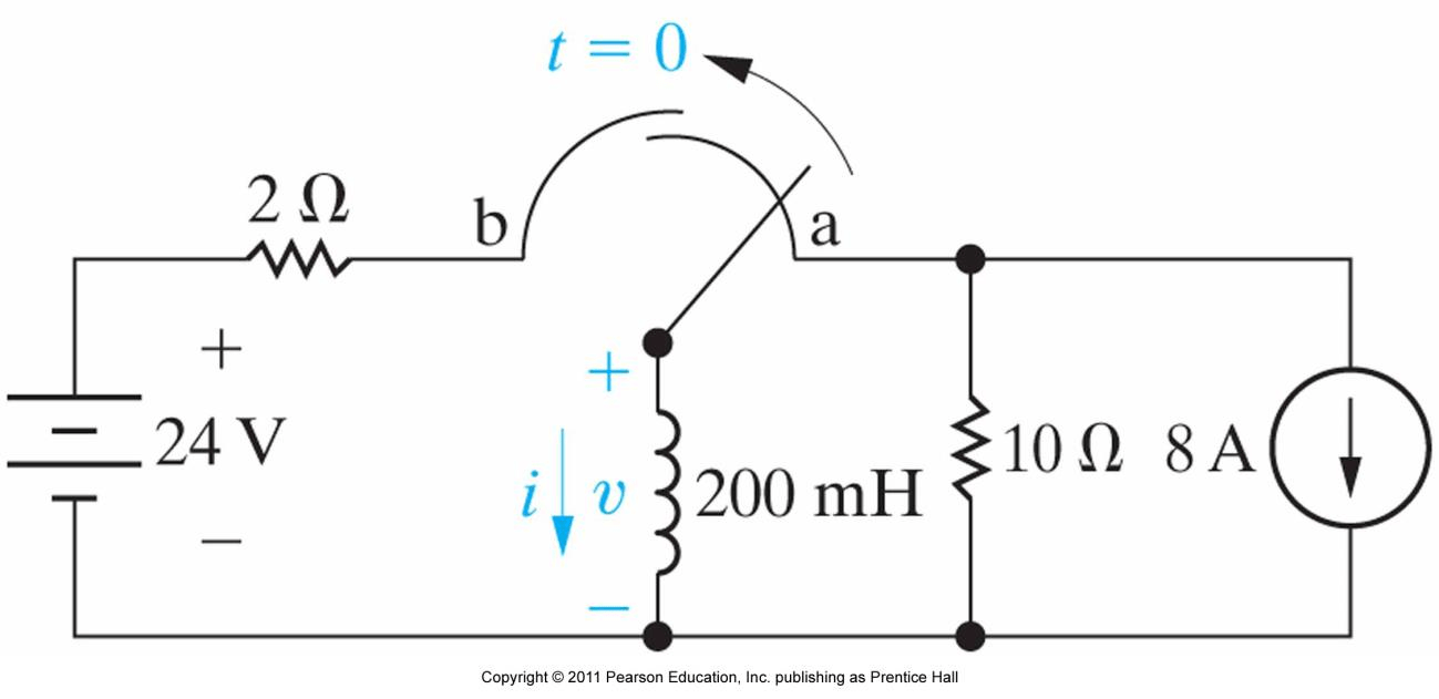 Solved: In The Following Circuit, The Switch Has Been In P