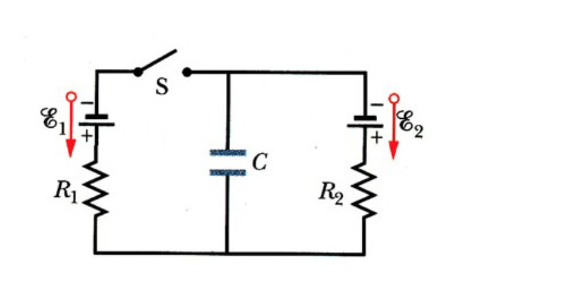 Solved: The Circuit As Shown In The Figure Above Shows A C