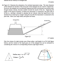 q 1 a describe with a diagram how an inclined manometer can be [ 785 x 1024 Pixel ]