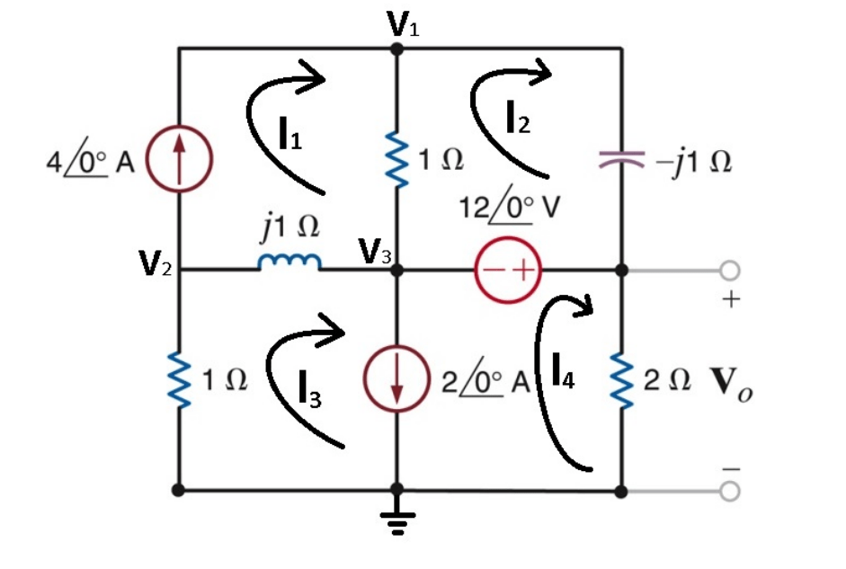 Solved: Write Nodal Equations For The Circuit Below (put I