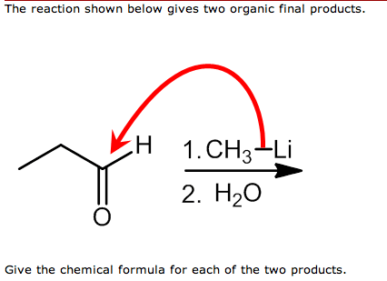 Solved: The Reaction Shown Below Gives Two Organic Final P