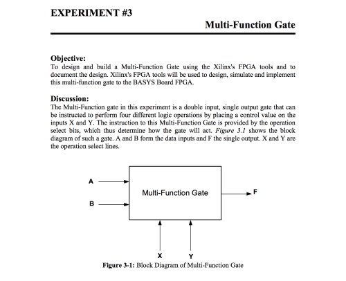 small resolution of experiment 3 multi function gate objective to design and build a multi