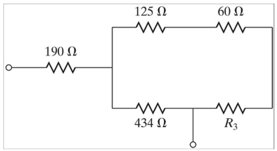 Solved: For The Resistor Circuit Shown Below, What Resista
