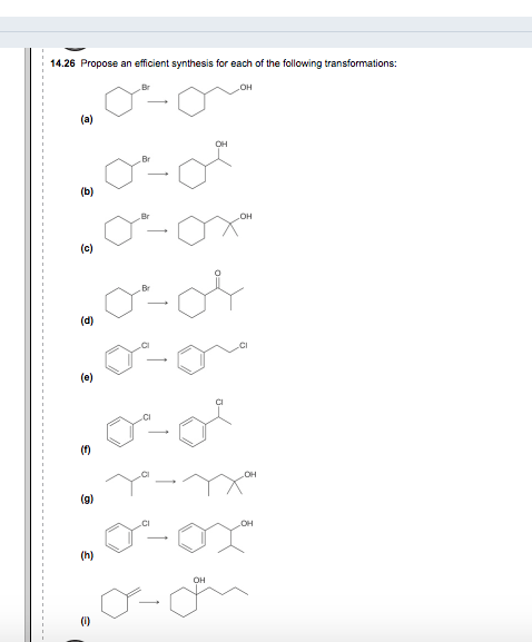 Solved: 14.26 Propose An Efficient Synthesis For Each Of T
