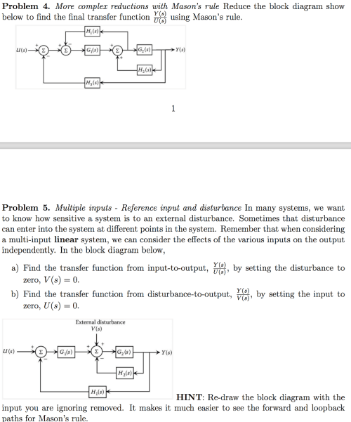 small resolution of more compler reductions with masons rule reduce the block diagram show y