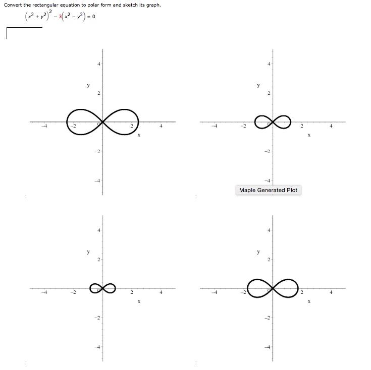 Solved: Convert The Rectangular Equation To Polar Form, An