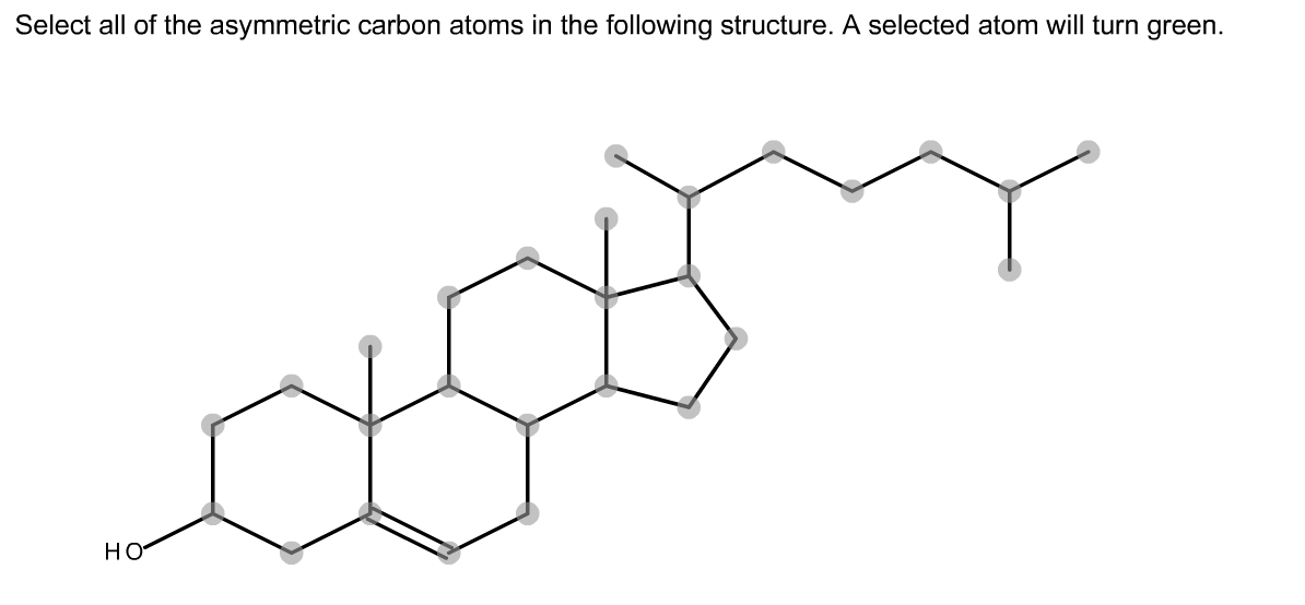 Solved: 20.) Select All Of The Asymmetric Carbon Atoms In