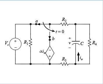 Solved: Learning Goal: To Analyze An RC Circuit With A Dep