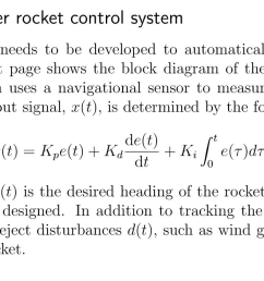analysis of the booster rocket control svstem a feedback control system needs to be [ 1645 x 703 Pixel ]
