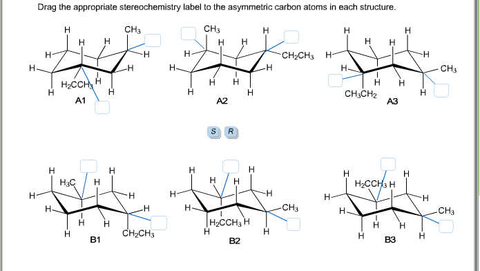 Solved: Drag The Appropriate Stereochemistry Label To The