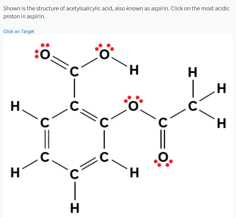 Solved: Shown Is The Structure Of Acetylsalicylic Acid, Al