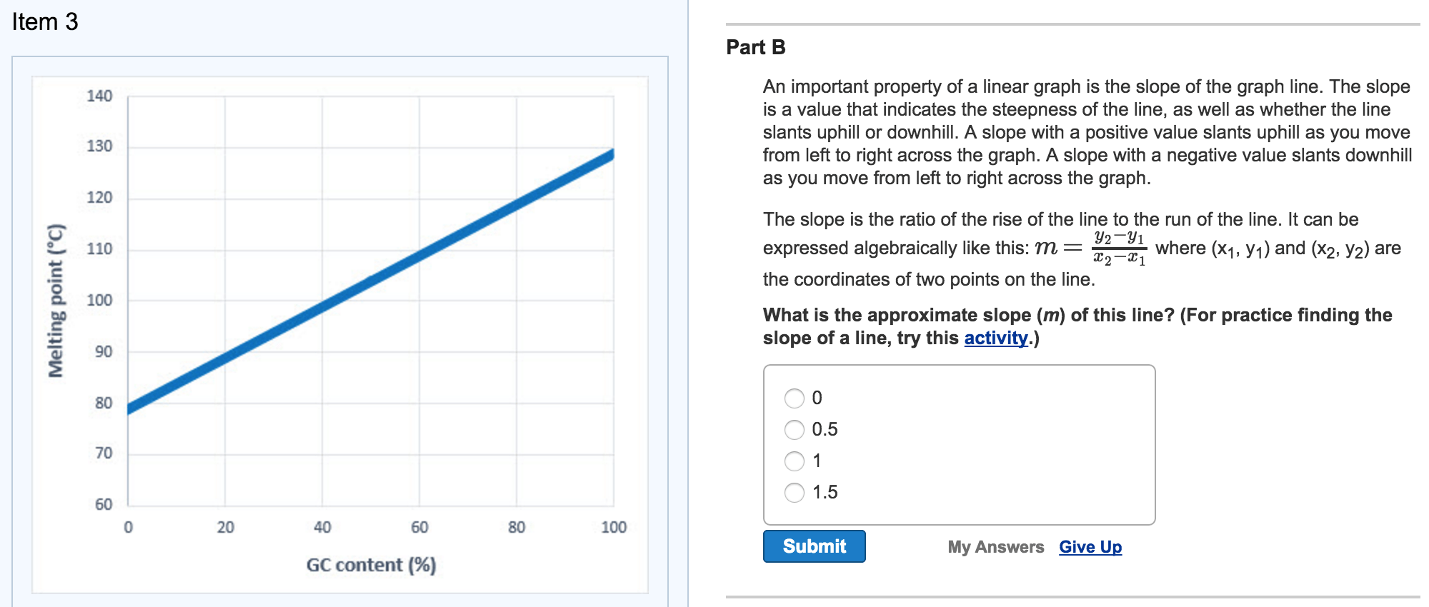 hight resolution of an important property of a linear graph is the slo