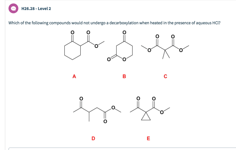 Solved: H26.28-Level 2 Which Of The Following Compounds Wo